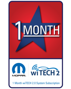 wiTECH 2.0 - 1 Month Subscription for microPod 2