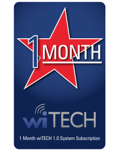 wiTECH 1.0 - 1 Month License for wiTECH1