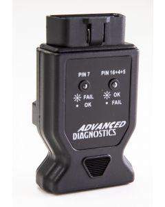 Advanced Diagnostics OBD Diagnostic Port Tester