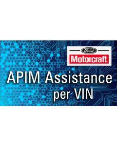 APIM Assistance for Motorcraft  per VIN