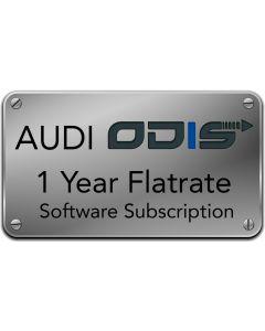 AUDI ODIS 1 Year Flatrate Subscription