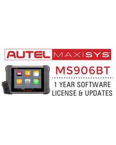 Autel MS906BT 1 Year Update