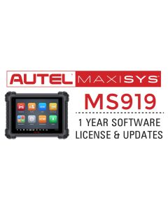 Autel MaxiSYS MS919 1 Year Update
