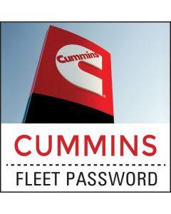 Cummins Fleet Account Password