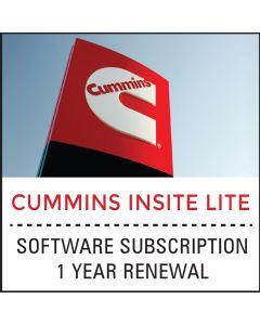 Cummins Insite Lite 1 Year Software Renewal