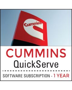 Cummins QuickServe Software Subscription - 1 Year