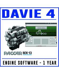 DAVIE4 PACCAR MX13 Engine Software - 1 Year