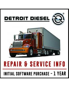 Detroit Diesel Repair & Service Info Software Subscription Initial Purchase