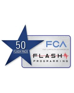 FCA Flash Tokens - 50 PACK