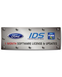 FORD IDS / FDRS 1 Month Software Subscription