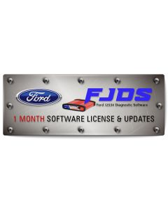 FORD FJDS Software Subscription - 1 Month
