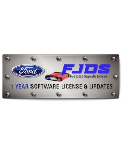 FORD FJDS 1 Year Software Subscription