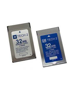 Bosch Tech 2 Blank 32mb Card