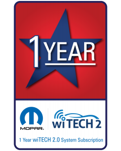 wiTECH 2.0 - 1 Year Subscription for microPod 2