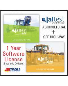 Jaltest AGV + OHW 1 Year Software License