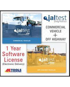 Jaltest CV + OHW  Software - 1 Year Subscription