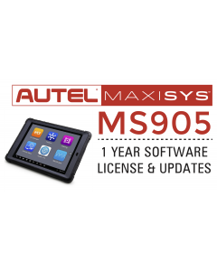 Autel Maxisys MS905 1 year Update