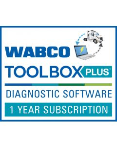 WABCO Toolbox Plus Diagnostic Software 1 Year Subscription