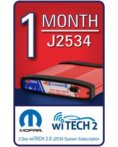 wiTECH 2.0 - 1 Month Subscription for J2534 Device ONLY